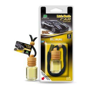 Závěsný autoparfém L&D Little Bottle Car Perfume Homme