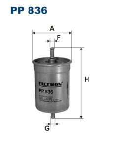 Palivový filtr FILTRON PP836