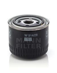 Olejový filtr MANN W914/28 - FIAT, IVECO