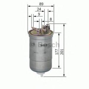 Palivový filtr BOSCH N 6374, (0450 906 374)