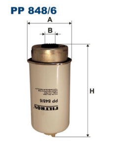 palivovy filtr FILTRON  - PP848/6