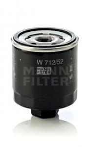Olejový filtr MANN W712/52 - Audi, Seat, Škoda, VW