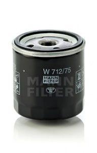 Olejový filtr MANN W712/75  - OPEL, CHEVROLET, DAEWOO