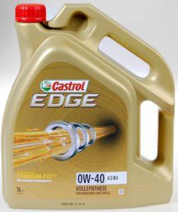 Castrol EDGE Titanium FST 0W-40, 5 l