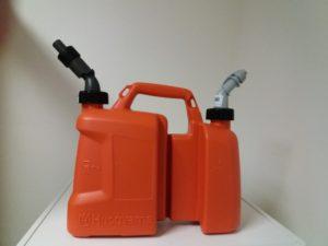 Husqvarna kanystr Combi oranžový 2,5L olej - 5L benzín