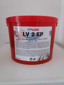Plastické mazivo LV 2 EP  8kg