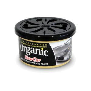 Vůně do auta – plechovka L&D Organic –  New Car (Nové auto)