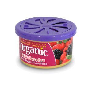 Vůně do auta – plechovka L&D Organic –  Wild Berries (Lesní plody)