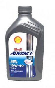 Motorový olej Shell Advance Ultra 4T 10W-40, 1L