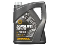 Motorový olej 0W-20 Mannol 7722 Longlife 508/509 - 5 L